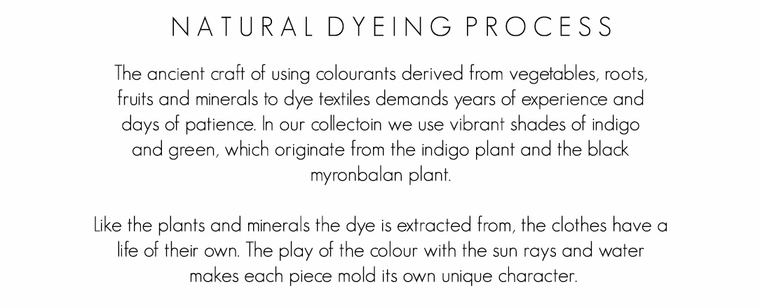 Natural dye, natuyral dyeing